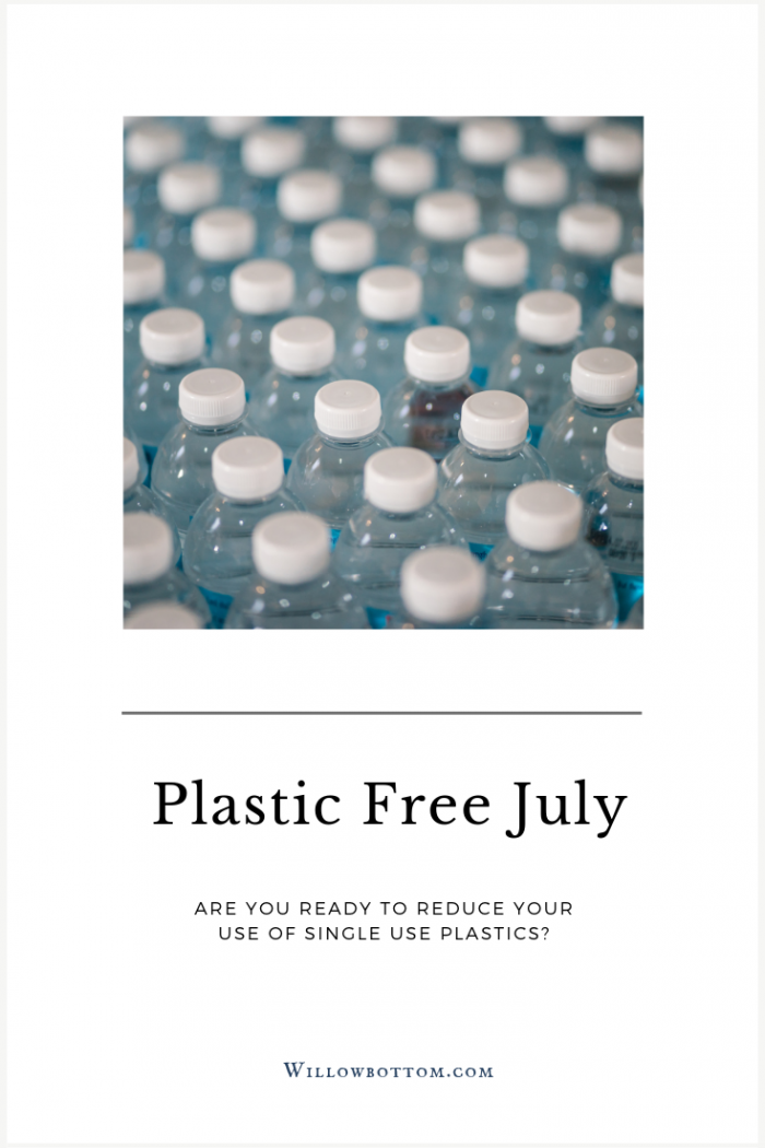 Pin this! Plastic Free July